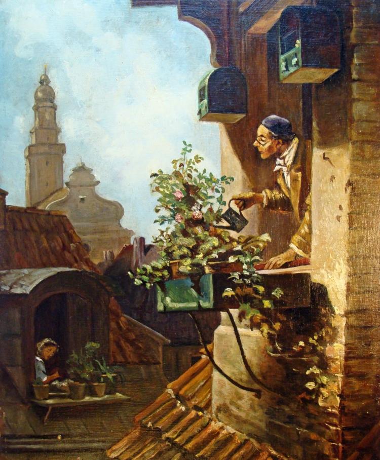 Carl_Spitzweg_-_Im_Dachstübchen_(v.1849)