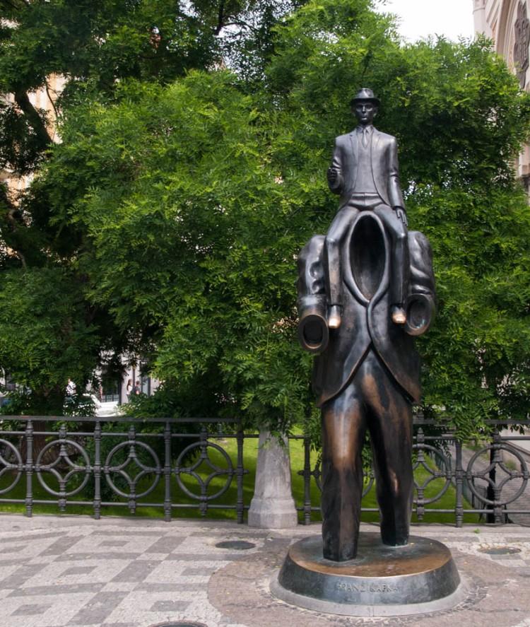 Franz Kafka memorial
