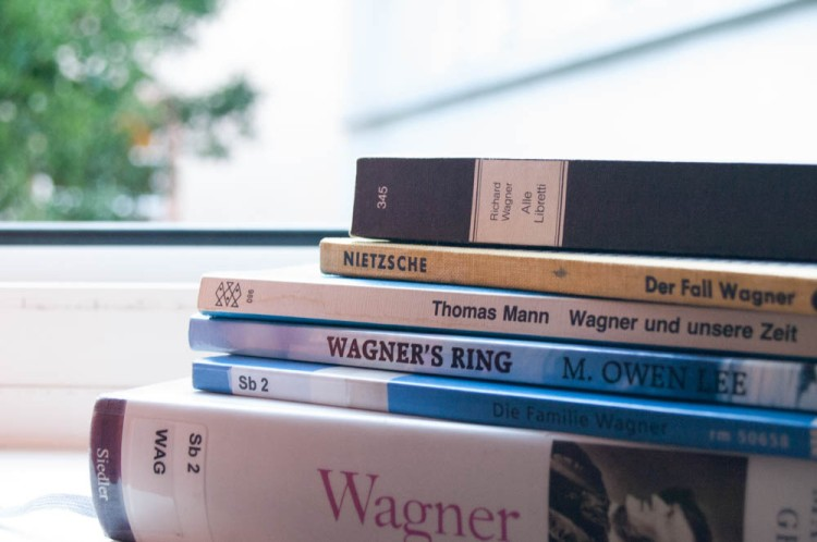 Reading list for Bayreuth 2015.