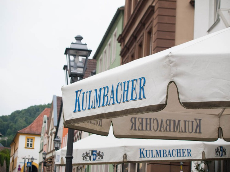 Kulmbacher Bier. Kulmbach, village that it is, is renowned across Germany for their breweries.
