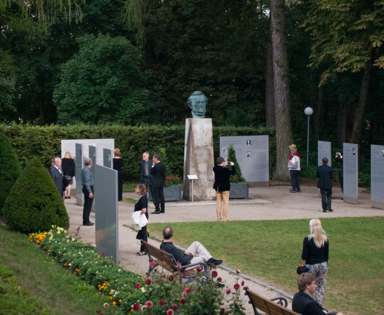 Visitors are confronted with the more troubling aspects of Bayreuth's past: a permanent display on antisemitism and Hitler in Bayreuth stands directly in front of the opera house. This is Wagner, after all--things are never uncomplicated.
